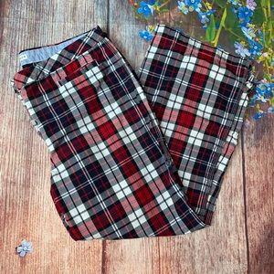 Tommy Hilfiger Plaid Button Front Pants Size 12